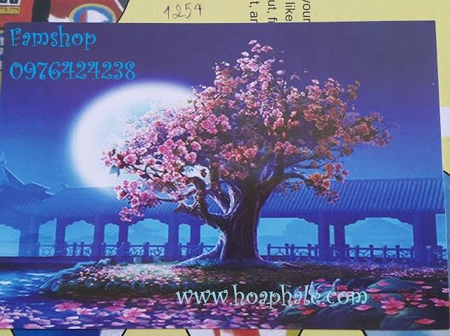 Tranh son dau so hoa tai Nam Dong