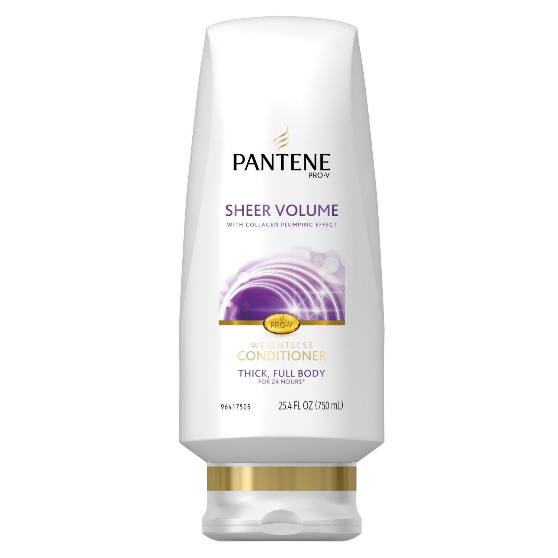 Pantene Shampoo and Conditioner Sale: 3 Bottles 25.4oz ...