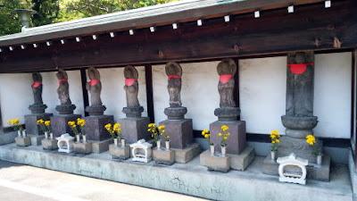 川崎市多摩区の長松寺 地蔵