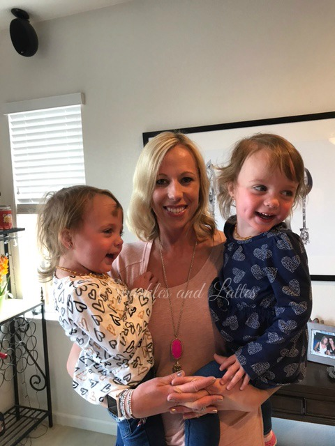 mommy and twins on mother's day