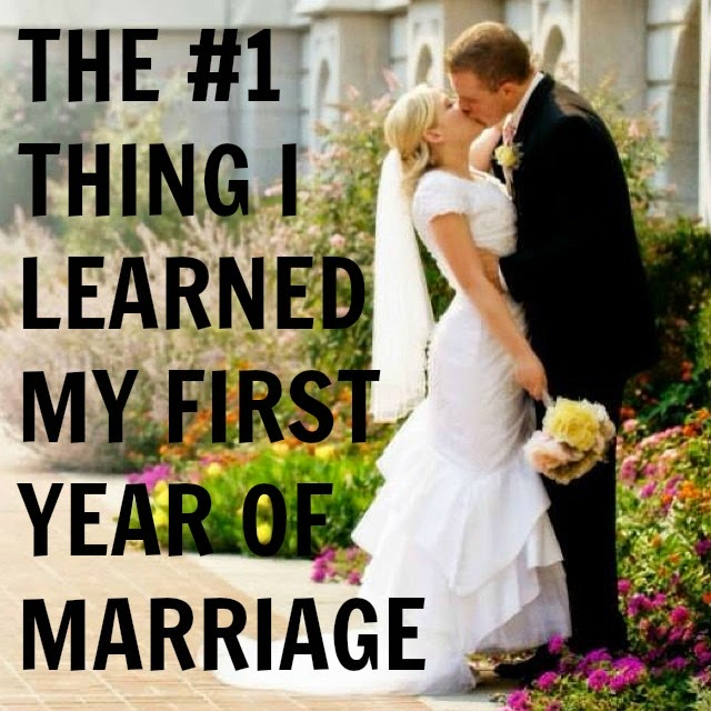 First Year Of Marriage: A Little Too Jolley: The #1 Thing I Learned My First Year
