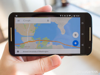 Google Map maker Android okostelefon
