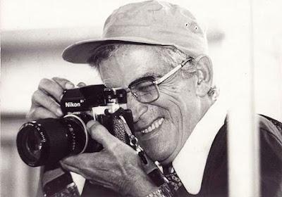 O fotógrafo nos anos de 1970.