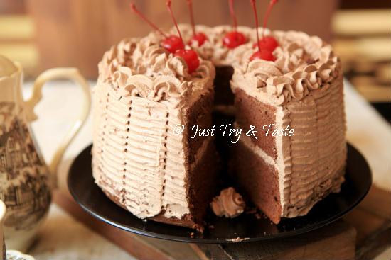 Resep Cake Singkong Jtt: Resep Cake Chiffon Coklat Dengan Krim Mocha & FAQ Seputar