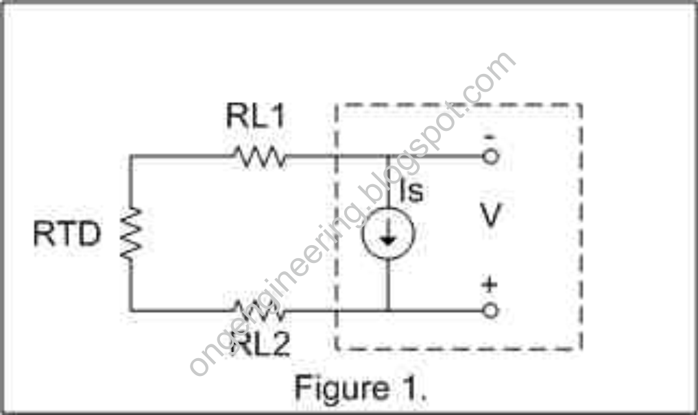 Oil and Gas Engineering: 2 Wires, 3 Wires, or 4 Wires RTD ...  Wire Rtd Sensor Circuit Diagram on