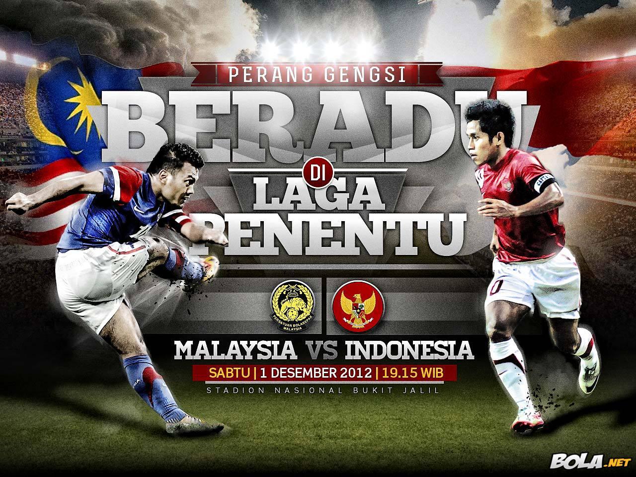 Prediksi Malaysia vs Indonesia Piala AFF 1 Desember 2012