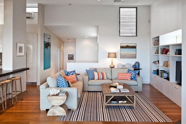 decoração sala com tapete