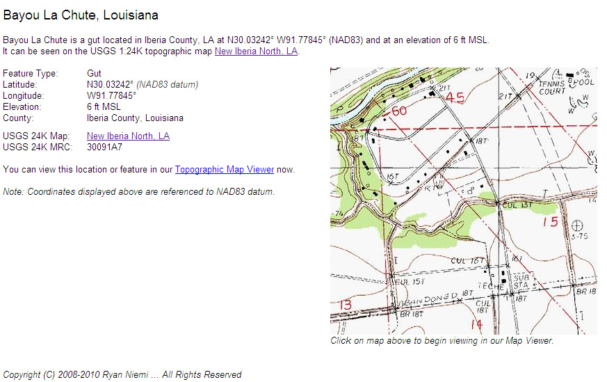 New Iberia Louisiana Map.Bayou Teche Dispatches La Chute A Waterfall On Bayou Teche