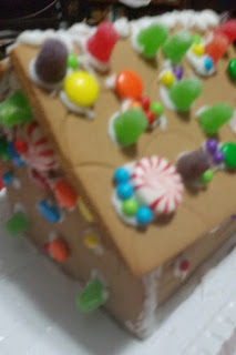 gingerbread house stage 4