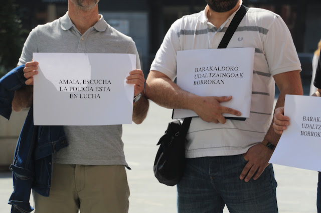 protesta Policía Municipal