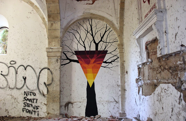 Street Art By Pablo S. Herrero and E1000 In The Pizarrales District Of Salamanca, Spain. 7