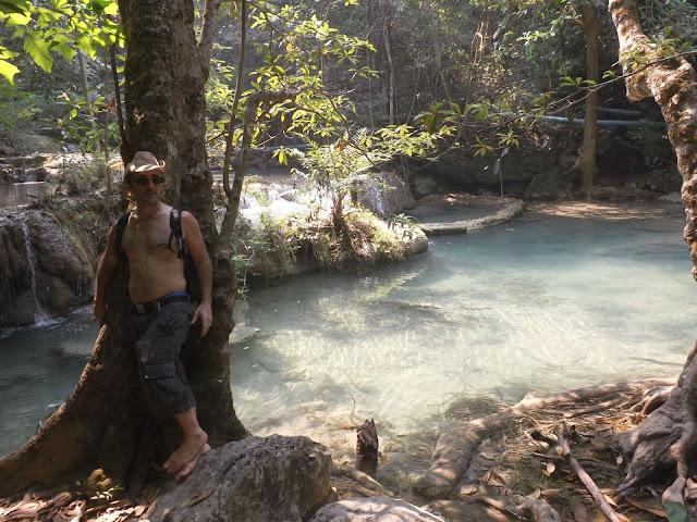 Thaïlande, Kanchanabury, cascade, Erawan