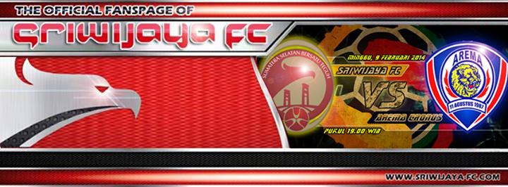 Prediksi Skor Line Up SRIWIJAYA FC Vs AREMA ISL Minggu Februari