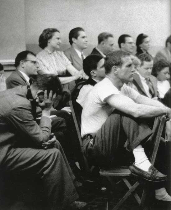 Paul Newman, The Actor's Studio, 1955