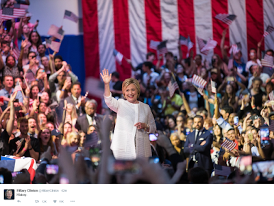 Hillary Clinton Makes History As The First Ever Female Presidential Nominee