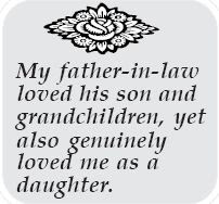 Happy Birthday  wishes quotes for father-in-law: my father in law loved his son