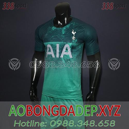 Áo Tottenham 2019 Sân Khách Màu Xanh Lá Đẹp