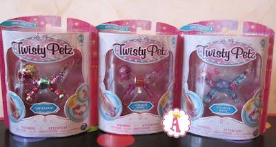 Игрушки Twisty Petz