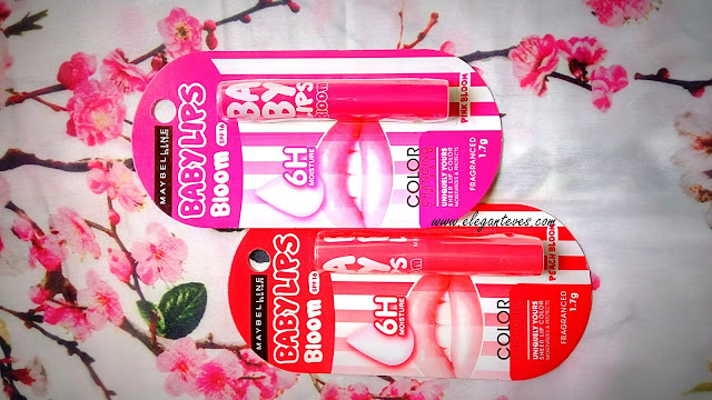 Review of Maybelline Babylips Bloom Color Changing Lip Balms