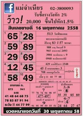 หวยแม่จำเนียร,หวยซองงวดนี้,เลขเด่นประจำเดือนพฤษภาคม, ข่าวหวยงวดนี้,หวยเด็ดงวดนี้ , เลขเด็ดงวดนี้ 16/05/2558