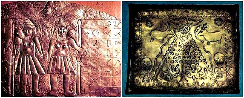 Estos dos objetos también formaban parte de la colección del sacerdote salesiano.