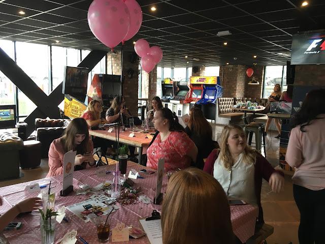 Bloggers at LPP Event inside Dough Bar