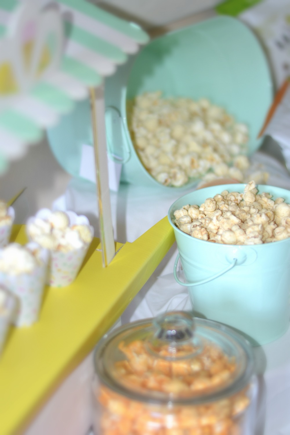 how to create a crowd pleasing party by making a popcorn bar using GH Cretors Organic popcorn