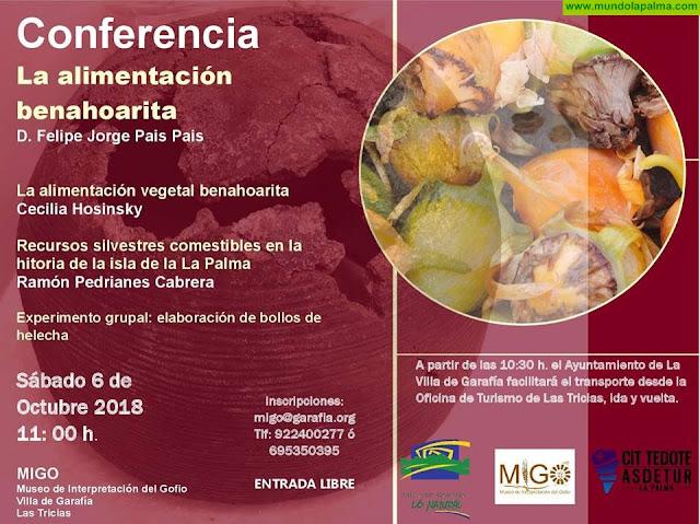 Conferencia de La Alimentación Benahorita