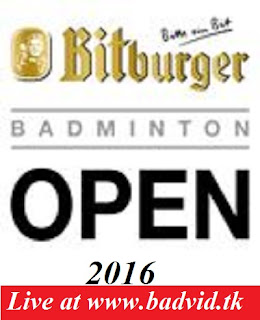 Bitburger Open 2016 live streaming and videos