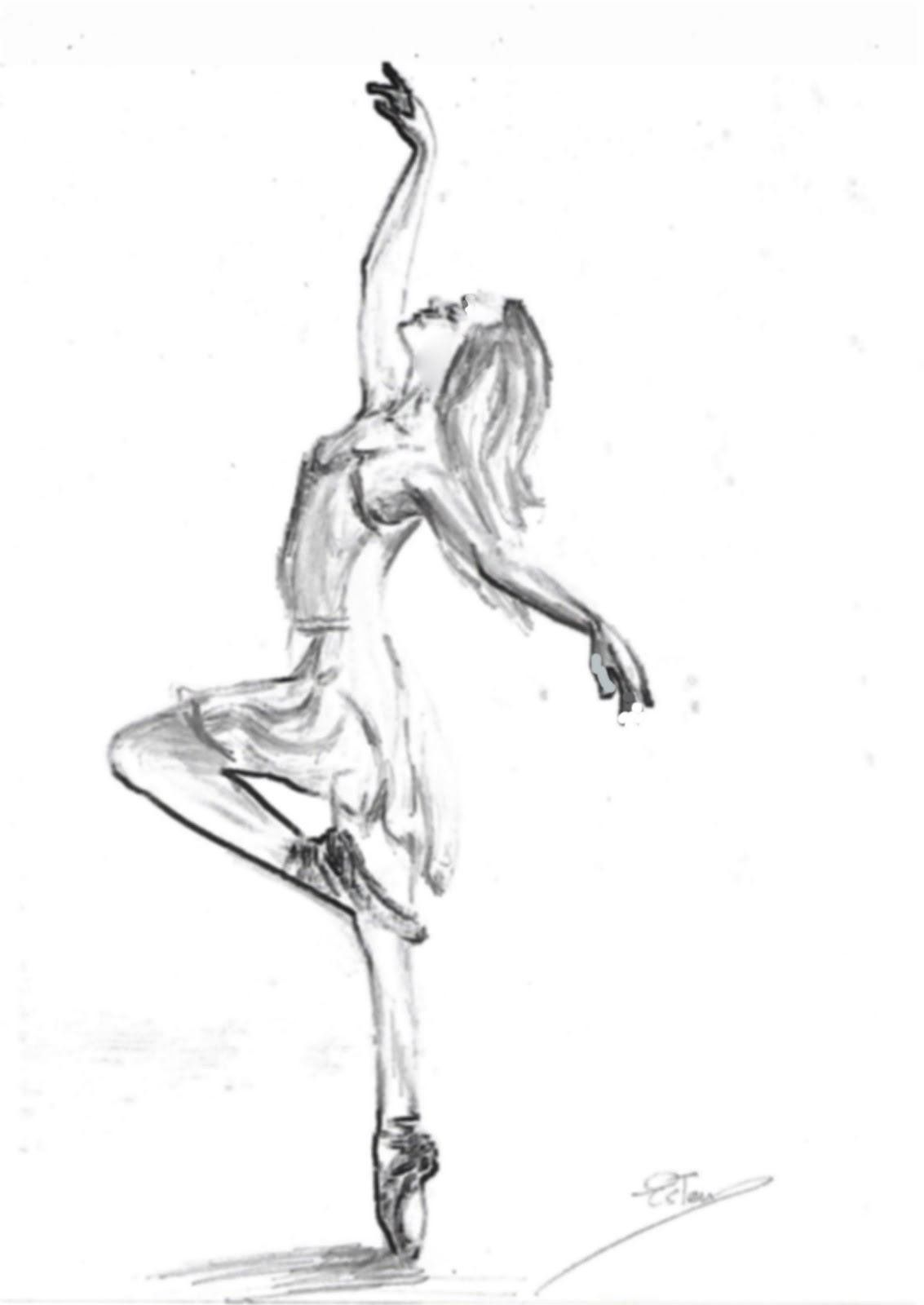 Mi Rinconcito Bailarina A Lápiz