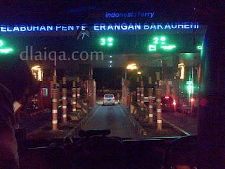 sampai di Pelabuhan Bakauheni, Lampung