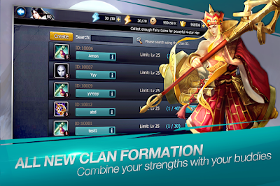 LINE Battle Heroes v1.0.0 Apk