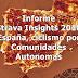 Informe Strava Insights 2018 España, ciclismo por Comunidades Autonomas