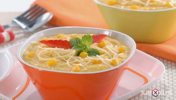 Resep cara membuat bubur jagung manis