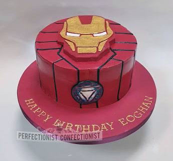 Ironman Birthday Cake CakeCentral Com Source Eoghan Iron Man