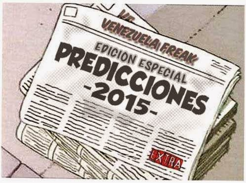 Front page versión cómic - predicciones 2015