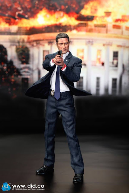 DID DropLeg Mag Pouch US SECRET SERVICE SPECIAL AGENT MARK 1//6 ACTION FIGURE TOY