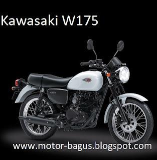 Harga dan spesifikasi motor kawasaki W175 lengkap