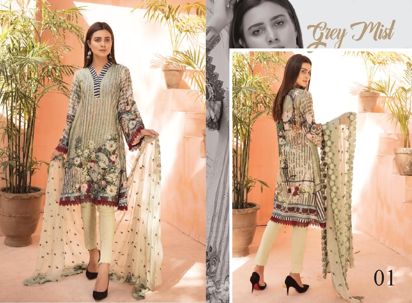 1528e9b860 4Seasons Fashion: Sanam Saeed Luxury Chikankari Lawn Collection 2019