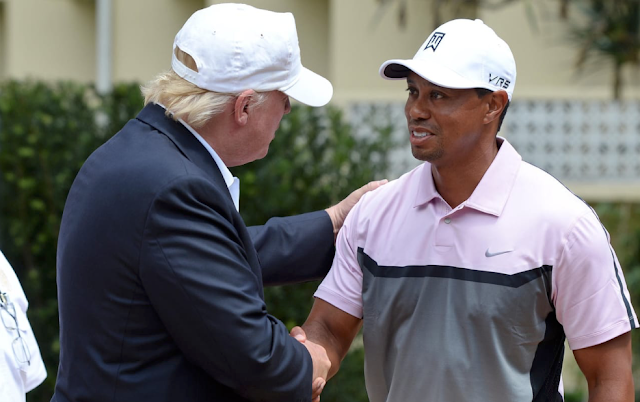 Tiger Woods on Trump: 'You have to respect the office'