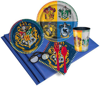 Harry Potter 16 Guest Party Pack with Molded Cups & Wizard Glasses Color: Multi-colored  Sizing C