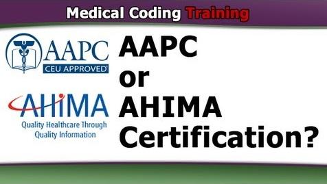 AHIMA vs AAPC, What Medical Coding Certification Test is Easier