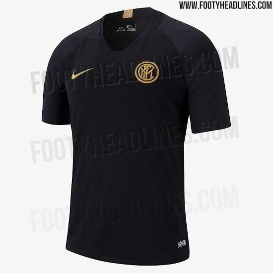 Hint At Next Season s Kits - Black   Gold Inter Milan 19-20 Training ... ac96ff467