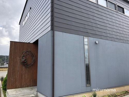 イマムラさんの玄関