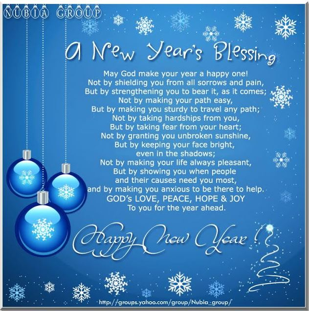 Happy New Year Wishes Religious