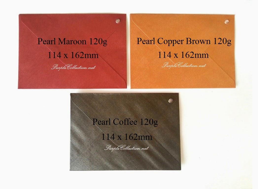 pearl envelope, 120g, for sale, online, malaysia, kuala lumpur, sampul, beli, kahwin, selangor, maroon, red, copper brown, coffee, dark