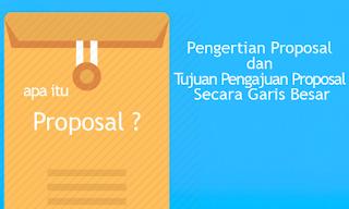 Tujuan Proposal