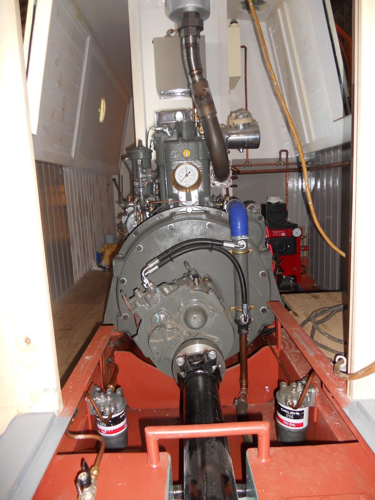 Boat Engine Room: Harris & Watson Narrowboat Build: Engine Commissioning And