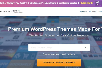 Get Premium Theme from Mythemshop with unlimited support and update