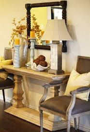 Entry Table Decorating Ideas